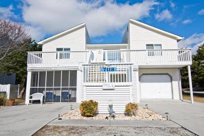 Emerald Isle Single Family Home For Sale: 7118 Ocean Drive