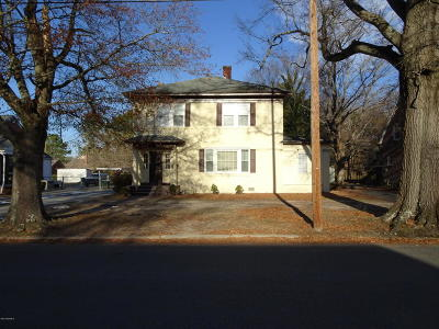 Rocky Mount Single Family Home For Sale: 712 Eastern Avenue