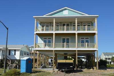 Holden Beach Single Family Home Sold: 276 Ocean Boulevard W