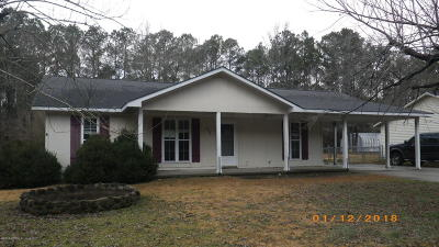Richlands Single Family Home For Sale: 370 Union Chapel Church Road