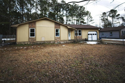 Jacksonville Single Family Home For Sale: 201 Haws Run Road