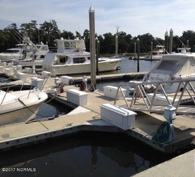Wilmington Boat Slip For Sale: 6338 Oleander Drive