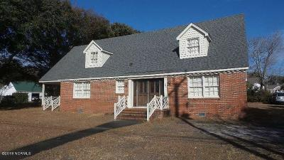 Morehead City Single Family Home For Sale: 1904 Evans Street