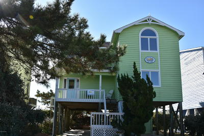 Holden Beach Single Family Home For Sale: 581 Ocean Boulevard W