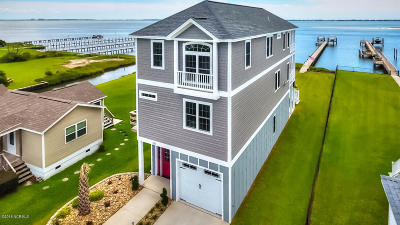 Newport Single Family Home For Sale: 135 Salty Shores Point Drive