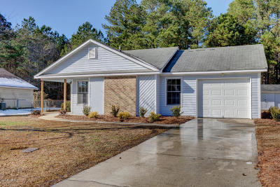 Onslow County Single Family Home For Sale: 119 Hunting Green Drive