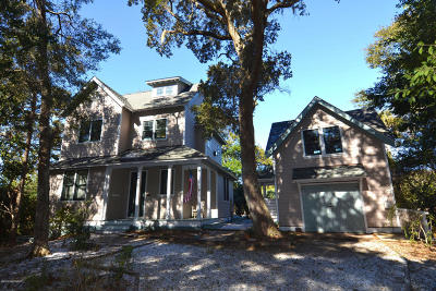 Bald Head Island Single Family Home For Sale: 21 Bay Tree Trail