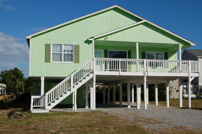Holden Beach Single Family Home For Sale: 130 Crab Street