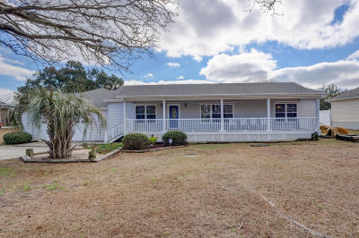 Sneads Ferry Single Family Home For Sale: 18 Bay Drive