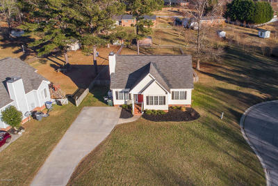 Rocky Mount Single Family Home For Sale: 113 Clancy Court