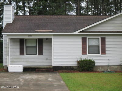Jacksonville Rental For Rent: 1920 Countrywood Boulevard