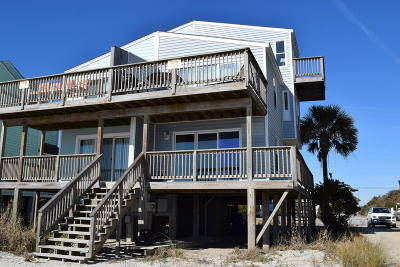 North Topsail Beach, Surf City, Topsail Beach Single Family Home For Sale: 2284 New River Inlet Road #B
