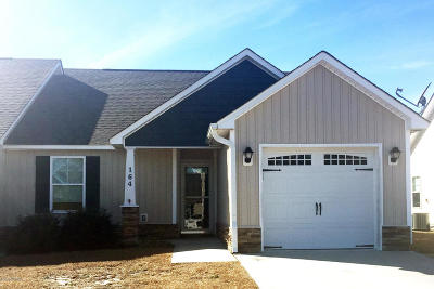 Onslow County Condo/Townhouse For Sale: 164 Pine Hollow Road
