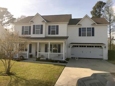 Jacksonville Single Family Home For Sale: 112 Tanbark Drive