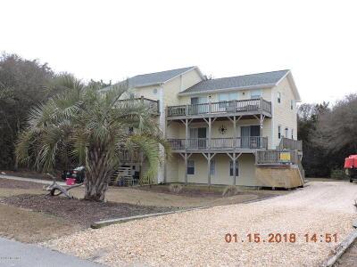 Emerald Isle Condo/Townhouse For Sale: 109 Ebb Tide Drive #North