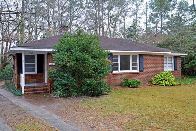 Greenville Single Family Home For Sale: 1408 Evergreen Drive