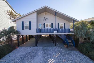 Ocean Isle Beach Single Family Home For Sale: 238 E First Street