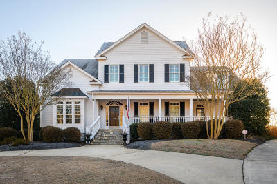 Greenville Single Family Home For Sale: 313 Woodspring Lane