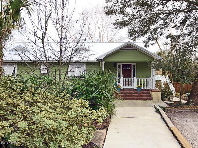 Carolina Beach, Kure Beach Single Family Home For Sale: 10 N 7th Street