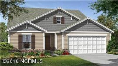 Calabash Single Family Home For Sale: 556 Dellcastle Court NW #Lot #136