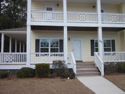Swansboro Condo/Townhouse For Sale: 21 Outrigger Drive