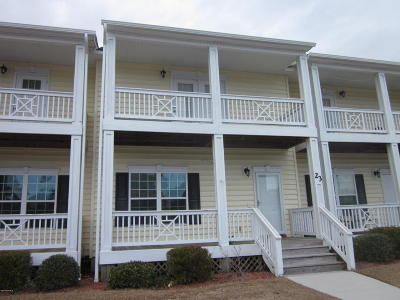 Swansboro Condo/Townhouse For Sale: 23 Outrigger Drive