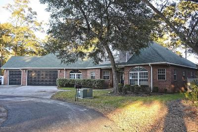 Ocean Isle Beach Single Family Home For Sale: 1860 Oak Harbour Drive SW