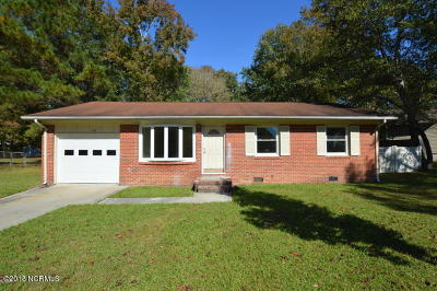 Onslow County Single Family Home For Sale: 102 Pineview Road