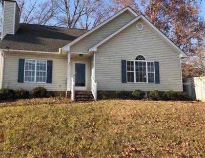 Rocky Mount NC Single Family Home For Sale: $88,500