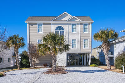 Holden Beach Single Family Home For Sale: 129 Sanford Street