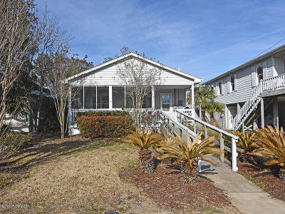 Carolina Beach, Kure Beach Single Family Home For Sale: 310 Hamlet Avenue