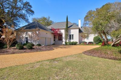 Southport Single Family Home For Sale: 1017 Captain Adkins Drive