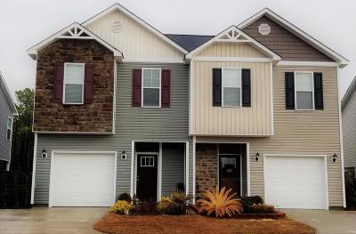 Sneads Ferry Single Family Home For Sale: 74 Manchester Lane