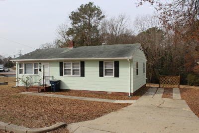 Onslow County Single Family Home For Sale: 5 Dewitt Street