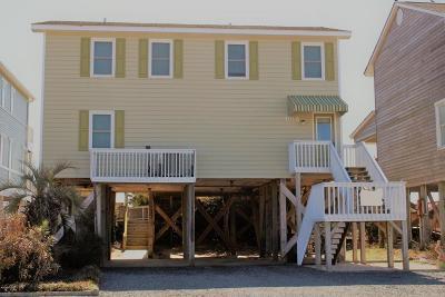 Holden Beach Single Family Home For Sale: 1015 Ocean Boulevard W