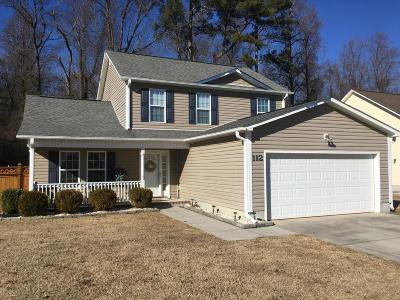 Richlands Single Family Home For Sale: 112 Brookhaven Drive
