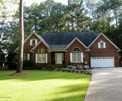 New Bern Single Family Home For Sale: 303 Augusta Court
