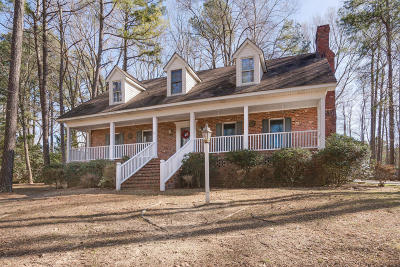 Rocky Mount Single Family Home For Sale: 2267 Hermitage Road