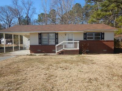 Jacksonville Single Family Home For Sale: 313 Cougar Lane