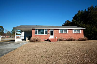 Onslow County Single Family Home For Sale: 50 Dixie Trail