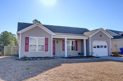 Onslow County Single Family Home For Sale: 224 Red Carnation Drive