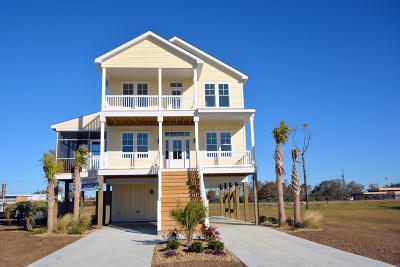 Harkers Island NC Single Family Home For Sale: $435,000