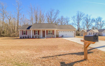 Onslow County Single Family Home For Sale: 316 Reid Court N