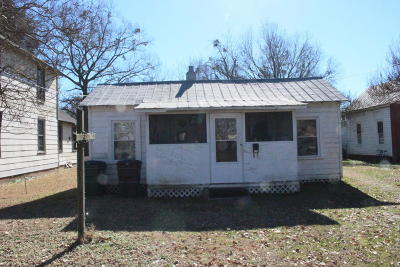 Edgecombe County Single Family Home For Sale: 509 Chestnut Street
