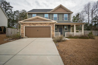 Swansboro Single Family Home For Sale: 317 Sand Grove Drive
