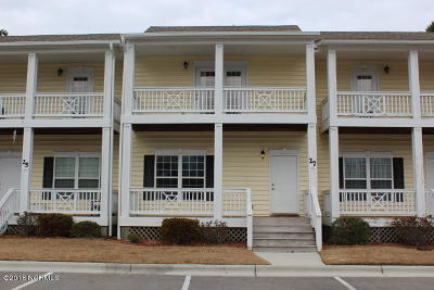 Swansboro Condo/Townhouse For Sale: 27 Outrigger Drive