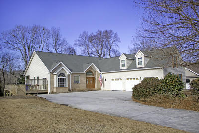 Olde Point, Olde Point Villas Single Family Home For Sale: 2004 Cordgrass Road