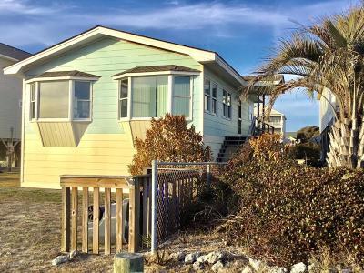 Oak Island Single Family Home For Sale: 2504 E Beach Drive