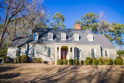 Kinston Single Family Home For Sale: 1305 Perry Park Drive