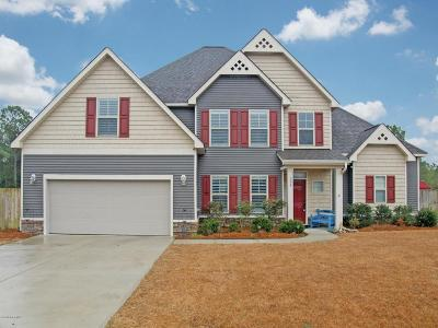 Holly Ridge Single Family Home For Sale: 306 Plymouth Lane